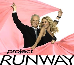 Project Runway's Tim Gunn and Heidi Klum