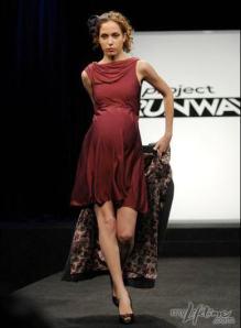 smocked maternity dress by Shirin Askari