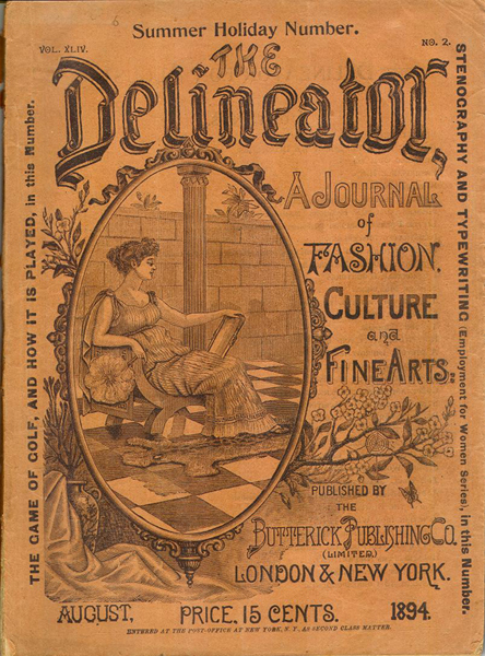 The Delineator, August 1984 issue