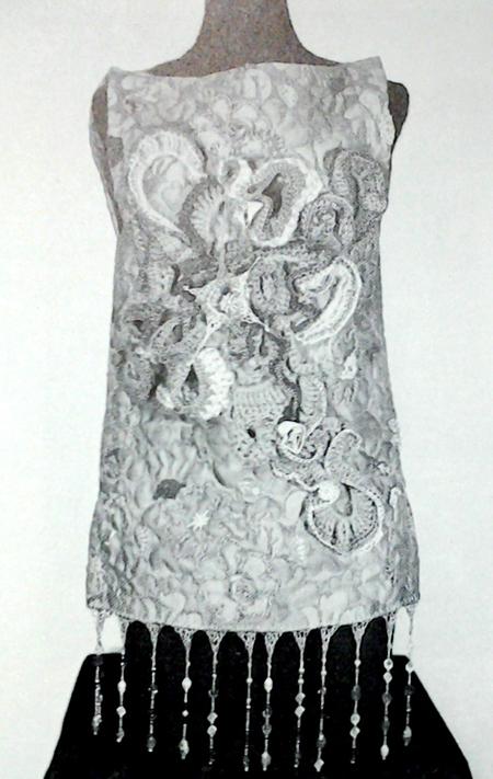 vest by Dewey Lipe