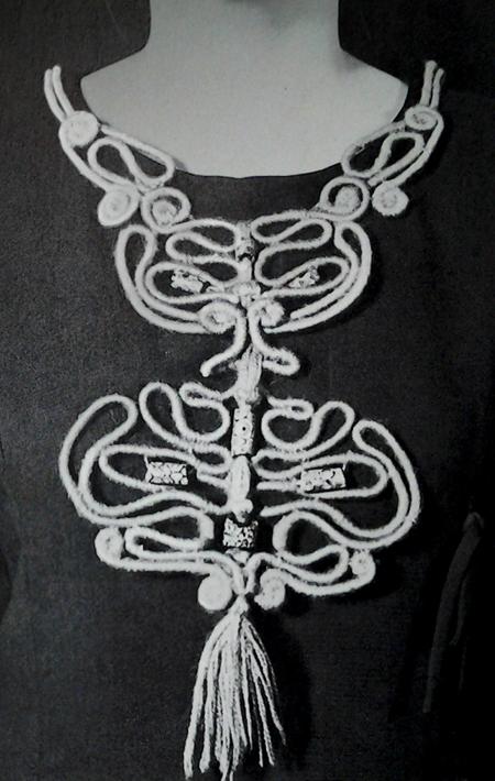 neckpiece by Jeanne Lowe