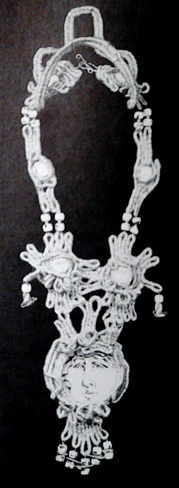 neckpiece by Mary Lou Higgins
